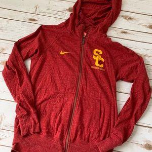 Nike USC hooded top